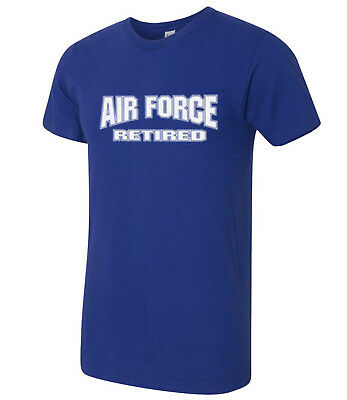 US Air Force Retired American Apparel USAF Retired AA T-shirt - 1116C
