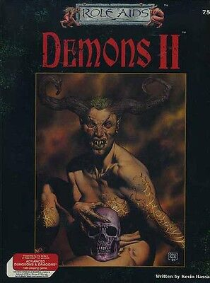 DEMONS II SEALED NEW Role Aids DEMONS AD&D Mayfair Games Adventure Game D&D AD&D