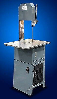 New MTN 2in1 Commercial Standing Meat Saw & Meat Grinder Mincer Chopper Bucher