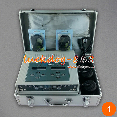 Dual Users Ionic Ion Foot Detox Spa Chi Bath Cleanse Technology 2 Fir Belts