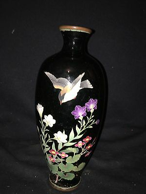 "Early 9 3/4"" Japanese Cloisonné Vase"
