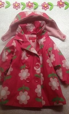 Girls Rain Coat Age 9-12 Months