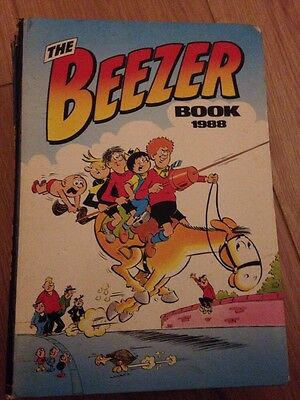 THE BEEZER BOOK Annual 1988
