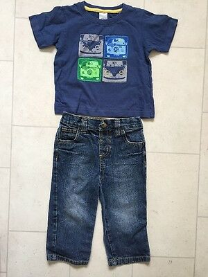 Boys Jeans & Campervan T-shirt 18 Months 1 1/2-2 Years
