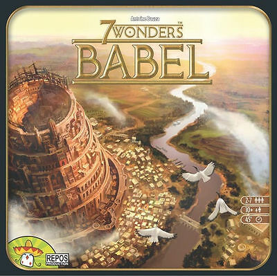 7 Wonders Babel Expansion Board Game New Factory Sealed