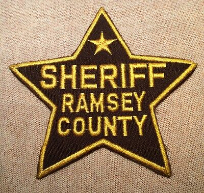 MN Vintage Ramsey County Minnesota Sheriff Patch (5.5In)