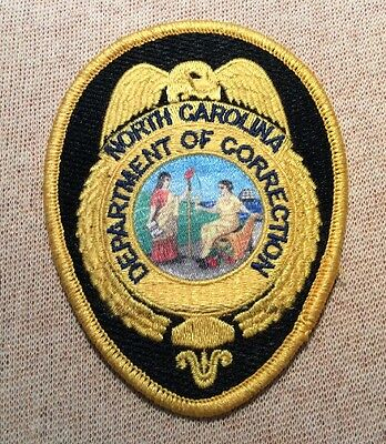NC North Carolina State Department of Correction Patch