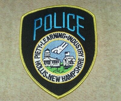NH Hollis New Hampshire Police Patch