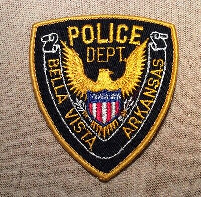 AR Bella Vista Arkansas Police Patch
