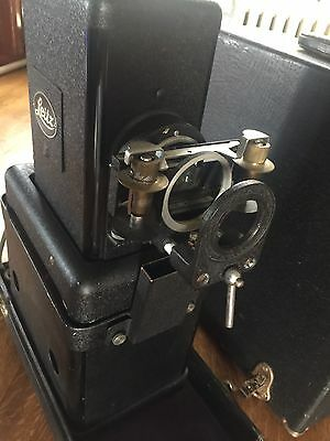 LEITZ LEICA SLIDE PROJECTOR Model VIIIS with LENS Works Great!! Free Shipping!!