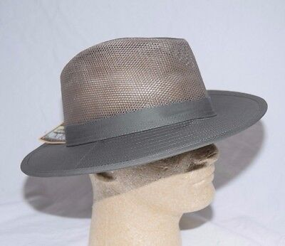 d4b959d54e5 DORFMAN PACIFIC SAFARI Hat UPF Mesh Crown Mens Olive Sizes Medium ...