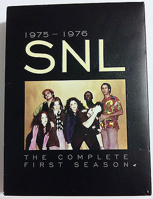 Saturday Night Live The Complete First Season (DVD, 2006, 8-Disc Set) New Sealed
