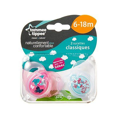 Tommee Tippee Soother 6-18 Months Baby Dummy Toddler Pacifier Kids Teether