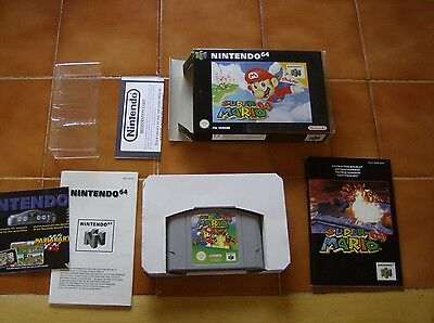 Super Mario 64 Boxed Complete With Manual - Nintendo 64 - Pal