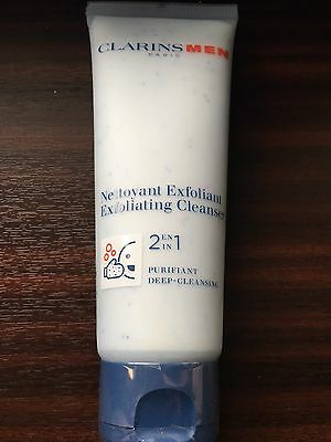 Clarins Men's 2-in-1 Exfoliating Cleanser 125ml