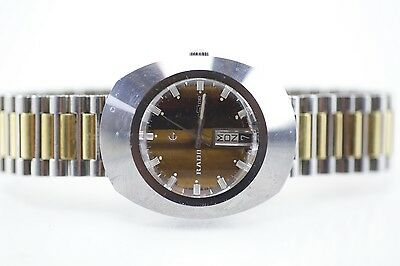 100% AUTHENTIC Vintage Rado Diastar 8/1 Swiss Made Automatic Day-Date Watch