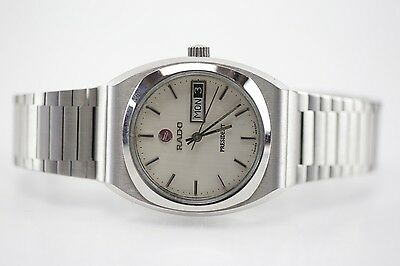 100% Authentic Vintage Rado President Swiss Automatic Day-Date Dial Watch