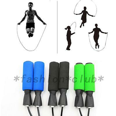 Hot Aerobic Exercise Boxing Skipping Jump Rope Adjustable Bearing Speed Fitness