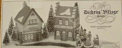 Dept 56 Dickens' Village START A Tradition Set NEW IN THE BOX