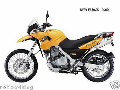 Bagster TANK COVER BMW F650 GS 00-07 BAGLUX protector IN STOCK yellow 1418C
