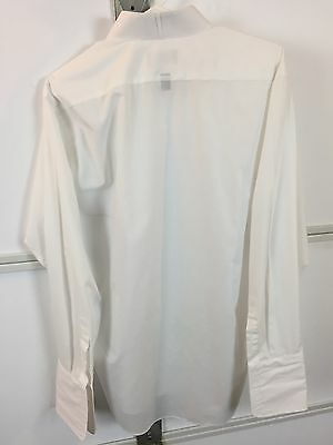 Stafford Formal Wear White Broadcloth Washed & Ironed Tuxedo Shirt 16 (34-35)