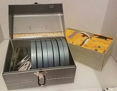 18 Vintage Lot Movies Films 8mm & Super 8mm 1950s & 60s - Europe Travel Sports