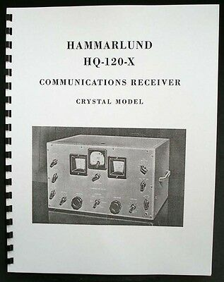 HAMMARLUND HQ-120-X HQ120X Receiver Manual