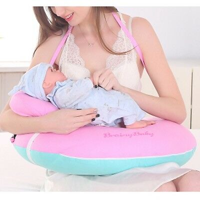 Pop Baby Feeding Pillow U-Shape Mommy Breastfeeding Newborn Support Soft Cushion