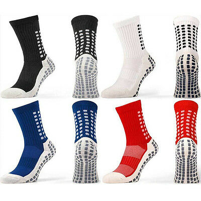 Trusox Tocksox Style Anti Slip Football Soccer Sports Socks Adults Unisex Mens