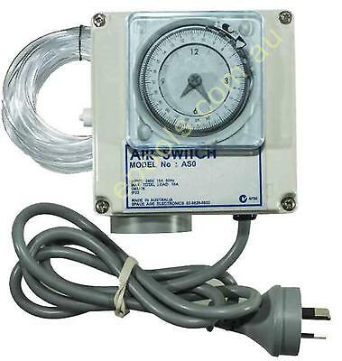 Air Switch Single for Spas and Pools with Timer 10amp Programmable