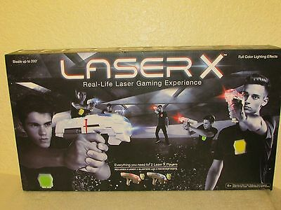 Laser X Real-Life Lazer Tag Gaming Experience Set 2 Players