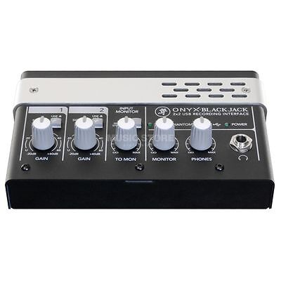 Mackie Mackie - Onyx Blackjack 2 x 2 USB Interface