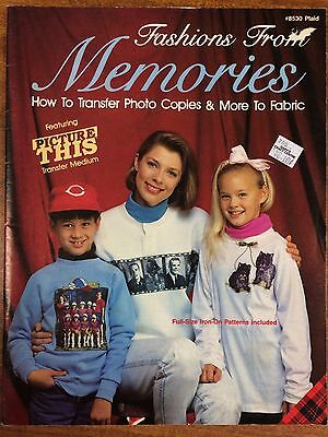 Fashions from Memories How to transfer Photocopies & More to Fabric - Iron Tranf