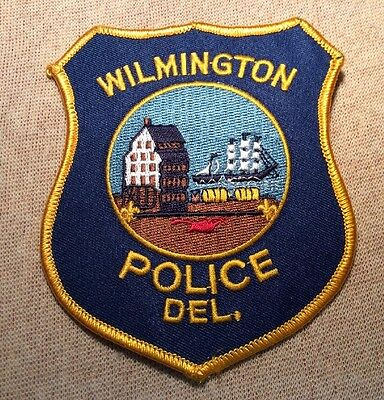 DE Wilmington Delaware Police Patch
