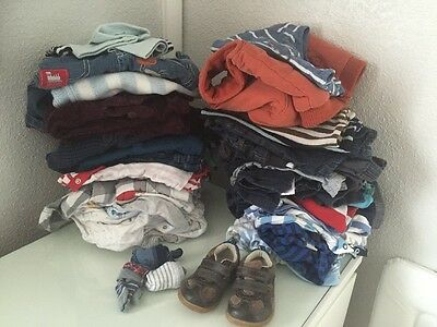 Baby Boy Bundle 6-9 Months 44 Items Gap/next/f&f/matalan/Junior J Free P+P
