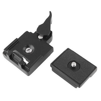 Camera Tripod Quick Release Clamp Adapter  Manfrotto 200PL-14 Uk