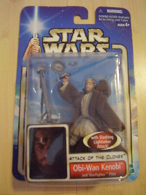 Star Wars Action Figure Obi-Wan Kenobi Attack of the Clones Collection 1 #36