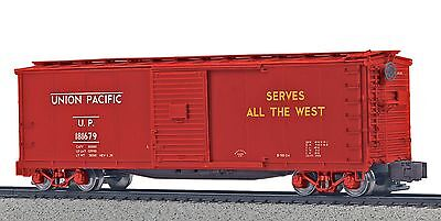 MTH S Scale 40' Rebuilt Steel Boxcar - Union Pacific UP #181679