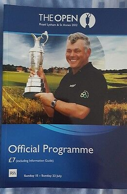 The Open 2012 programme
