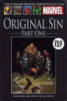 MARVEL GRAPHIC NOVELS COLLECTION #137 Original Sin Part One NEW