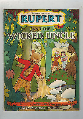 RUPERT Adventure Series No. 8 Rupert & the Wicked Uncle