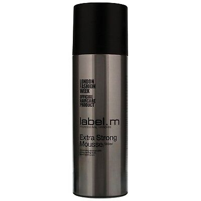 Label.m Create Extra Strong Mousse 200ml for women