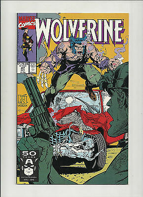 Wolverine  #47 NM-  (Vol 2)