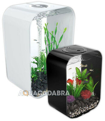 biOrb Life Aquariums - 15L, 30L, 45L, 60L. Available in Black, White & Clear