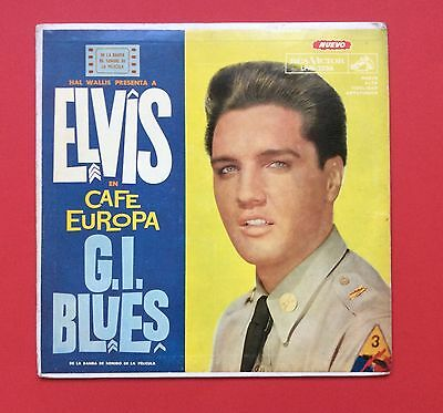 Elvis Presley- Hard To Find Cafe Europa(Gi Blues) From Argentina