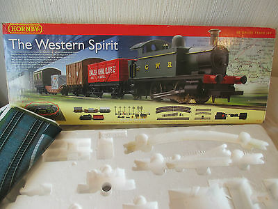 **empty Box** For Hornby R1109 'the Western Spirit' Set. Inc.trakmat. Very Good