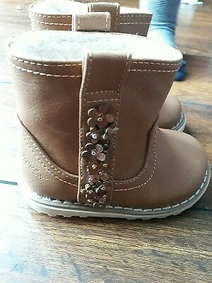 baby girls next boots size 3 bnwt