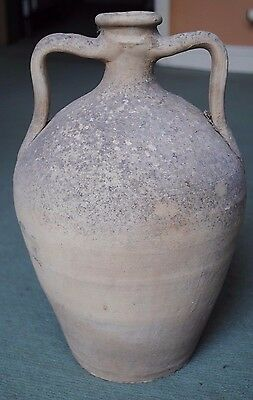 Huge Ancient Cypriot Terracotta Amphora 1St Millennium Bc