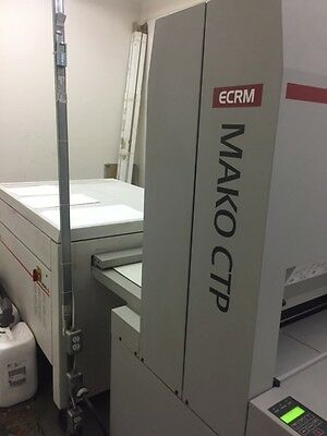 ECRM MAKO II  2 CTP  (COMPUTER TO PLATE) PLATE SETTER with processor