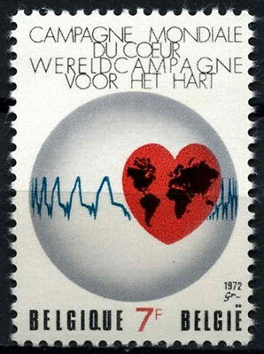 Belgium 1972 SG#2269 World Heart Month MNH #D49234